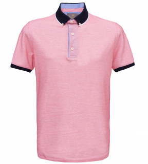 Tricou Polo Regular fit- roz deschis