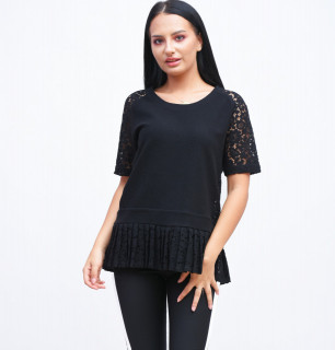Bluza cu dantela French Connection