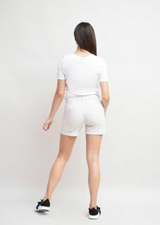 Pantaloni scurti cu inchidere cu capsa