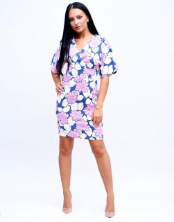 Rochie cu imprimeu floral Marina Kaneva