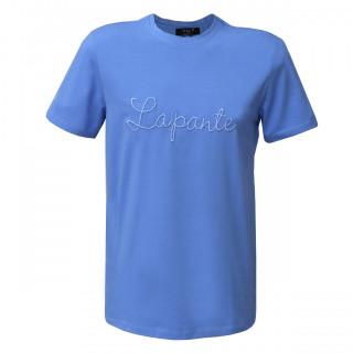 Tricou Casual albastru deschis cu imprimeu