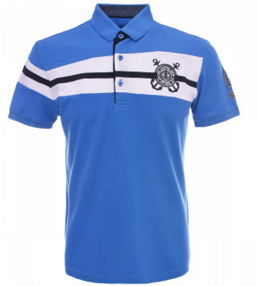 Tricou Polo Barbati Regular fit Tony Montana - Sailor-albastru