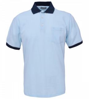 Tricou Polo Barbati Regular Fit Wellalux -bleo