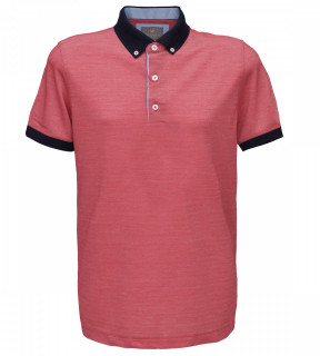 Tricou Polo Regular fit- corai