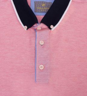 Tricou Polo Regular fit- roz deschis
