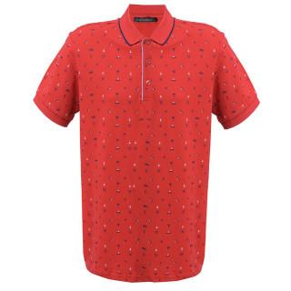 Tricou Rosu cu imprimeu Polo Tony Montana