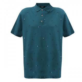 Tricou Verde cu imprimeu La Pante