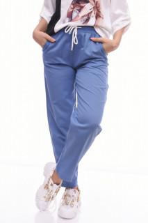 Pantaloni casual/ sport - turcuoaz-