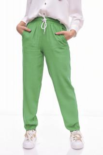 Pantaloni casual/ sport - verde-