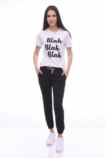 Pantaloni dama sport Lisa - negru -