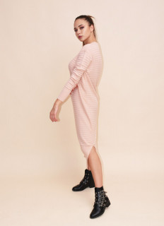 Rochie lunga din tricot