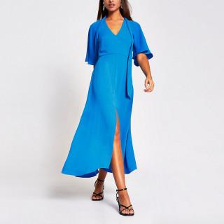 Rochie lunga eleganta albastra