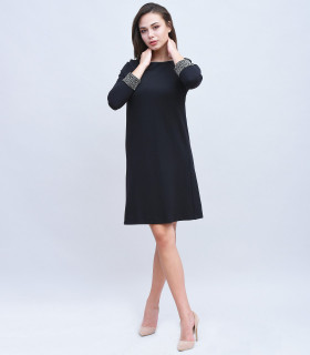 Rochie Midi Neagra French Connection