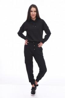 Trening dama cargo - negru -