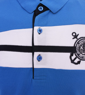 Tricou Polo Barbati Regular fit Tony Montana - Sailor-albastru