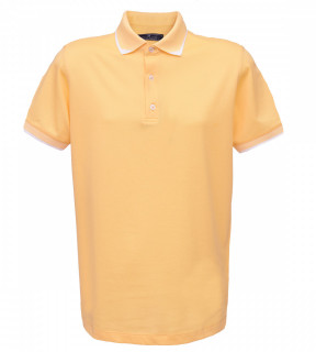 Tricou Polo Regular fit- galben