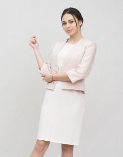 JACQUES VERT Sacou roz prafuit elegant