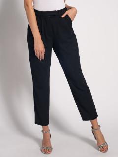 Pantaloni dama casual -negru-E-