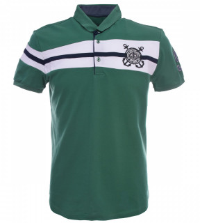 Tricou Polo Barbati Regular fit Tony Montana - Sailor-verde