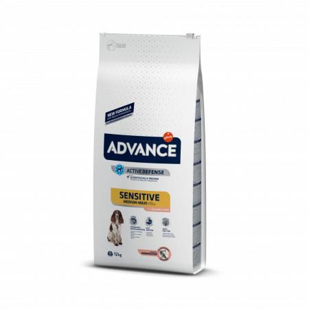 Advance Dog Medium & Maxi Sensitive Somon si Orez