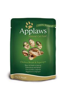 Applaws CAT hrană umedă cu piept de pui și sparanghel în sos