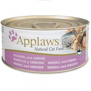 Applaws CAT hrană umedă cu macrou și sardine
