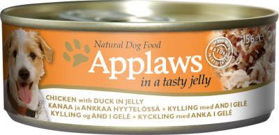 Applaws DOG piept de pui și rață în aspic