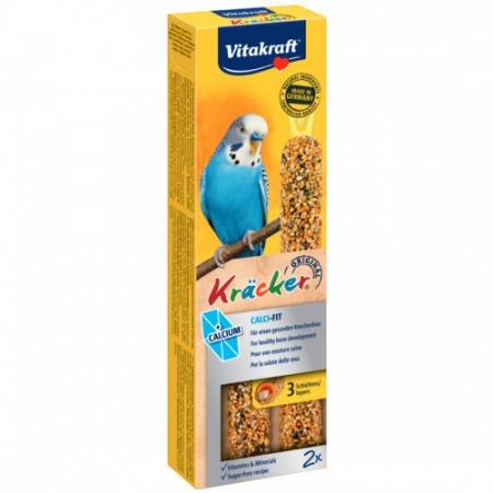 Baton pentru perusi Vitakraft Kracker Calci Fit 60 gr