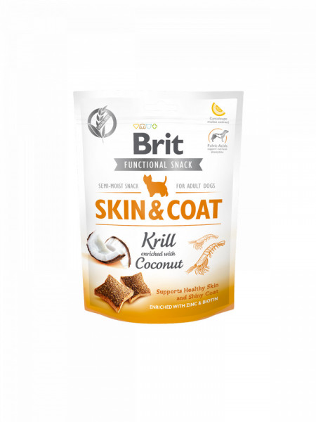 Brit Care Functional Snack skin and coat