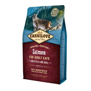 Carnilove Salmon Cats Sensitive & Long Hair 2 kg