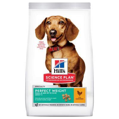 HILL'S SP Adult small & mini Perfect Weight cu pui 1.5 kg