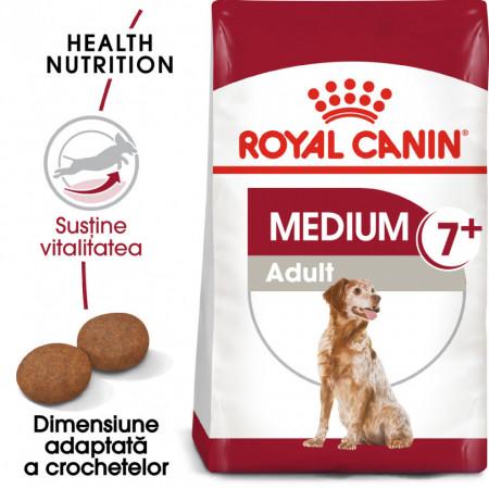 Hrana uscata caini ROYAL CANIN Medium Adult 7+