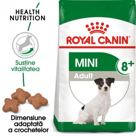 Hrana uscata caini ROYAL CANIN MINI ADULT 8+