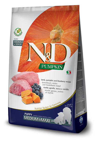 Farmina Grain Free Pumpkin Medium Maxi Puppy