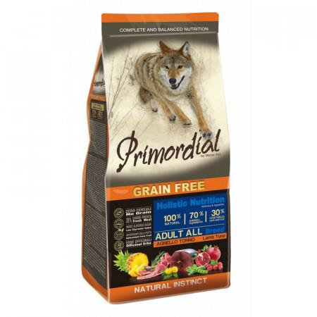 Primordial Grain-Free Holistic Dog Adult Tuna & Lamb 12kg