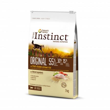 True Instinct Original Cat cu pui 7 kg