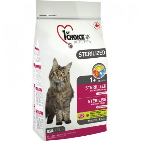 1ST CHOICE CAT ADULT STERILIZED 2.4 KG