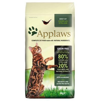 Applaws CAT hrana uscata cu miel 2 kg