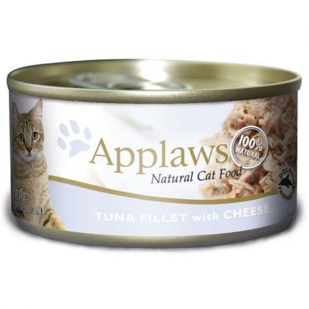Applaws CAT  fileuri de ton și brânză 156 gr