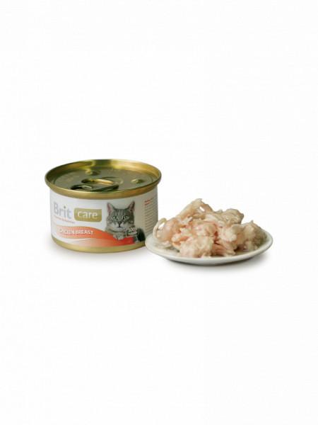 Brit Care Cat cu piept de pui 80 gr