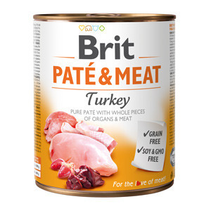 Brit Pate and Meat Turkey 800 gr