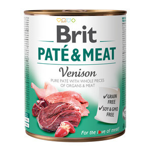 Brit Pate and Meat Venison 800 gr