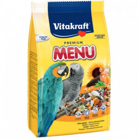Hrana pentru papagali Vitakraft Premium Menu 1 Kg