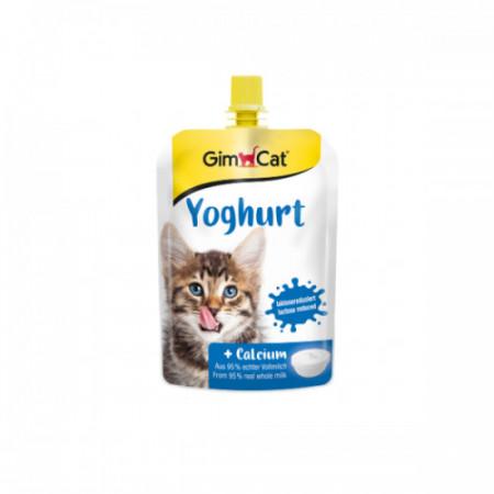 Hrana umeda pentru pisici Gimcat Iaurt 150 gr