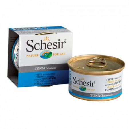 Hrana umeda pisici Schesir cu ton