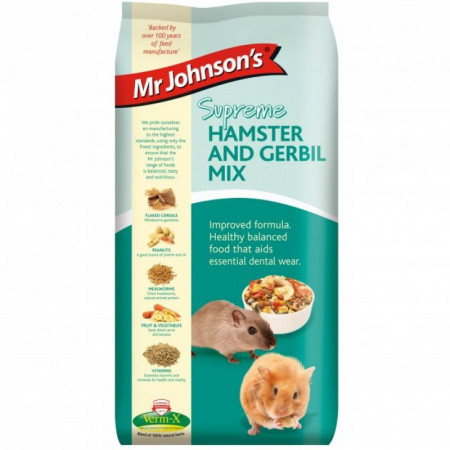 MR. JOHNSON`S SUPREME HAMSTER/GERBIL MIX (900 GR.)