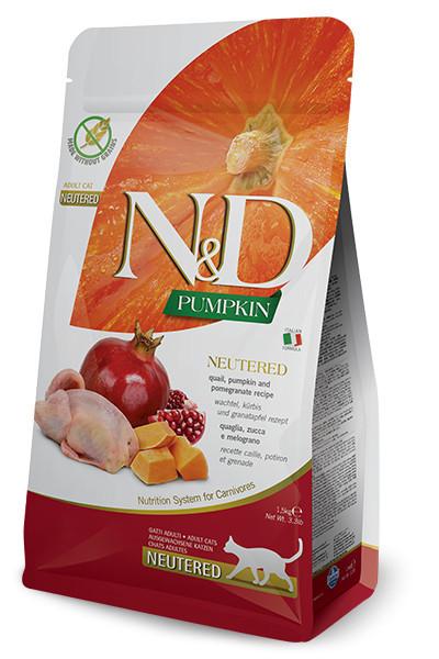 Natural&Delicious Pumpkin Neutered