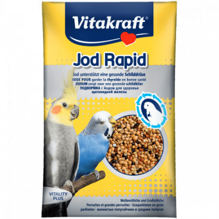 Vitamine pentru perusi Vitakraft Iod 20 Gr
