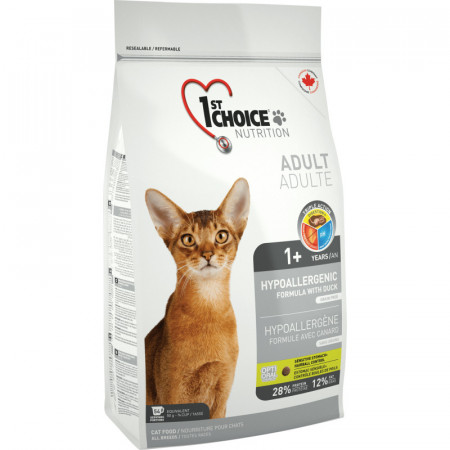 1ST CHOICE CAT ADULT HYPOALLERGENIC 5.44 KG