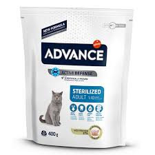 Advance Cat Adult Sterilized Curcan 400 g